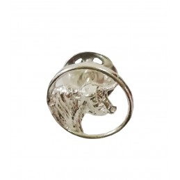 "Bullfighting silver pins ""bull"""