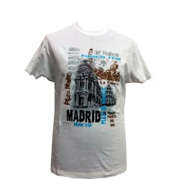 "Camiseta ""Gran Vía"" Madrid adulto"