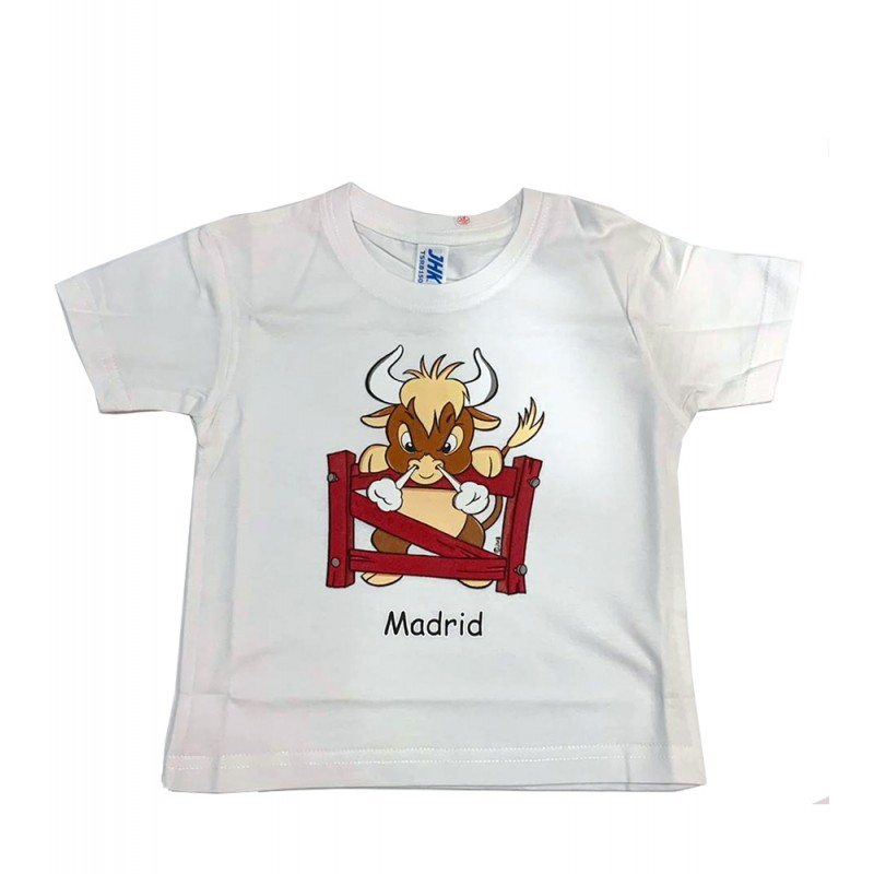 """T-shirt """"Toro enfadado"""" enfant"""
