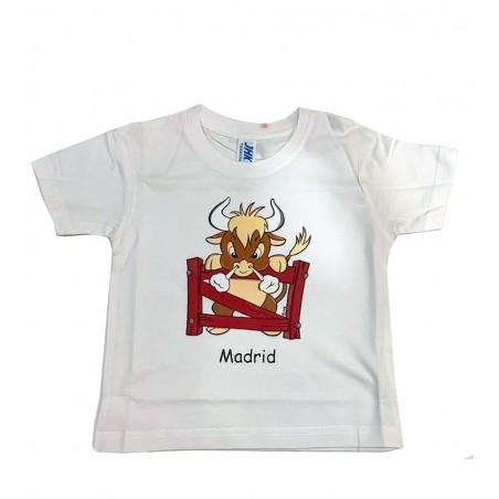 """Angry bull""  kids T-shirt"