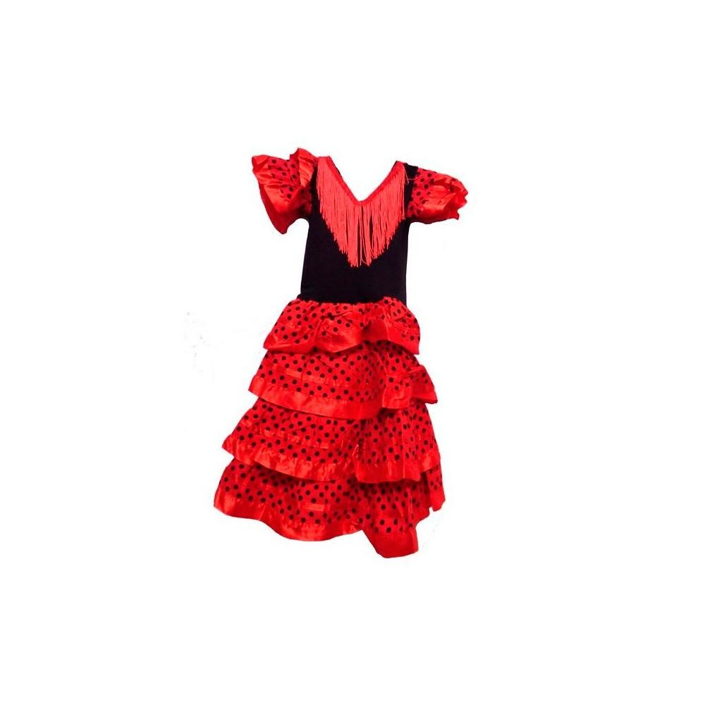 disfraz infantil de flamenca