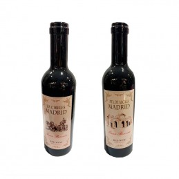 "Wine set, bottle ""Madrid"""