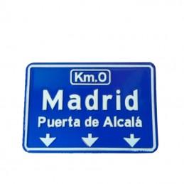 """""""Madrid"""" Metal fridge magnet"""