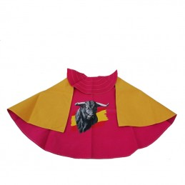 Children's cape Bull and flag of Spain