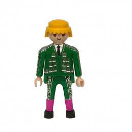 Click torero traje de luces verde playmobil