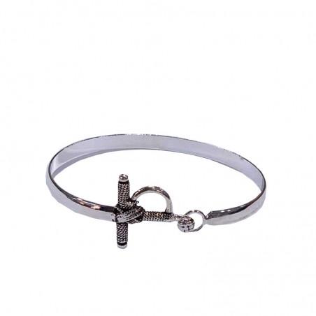 Bracelet taurine avec bain d'argent