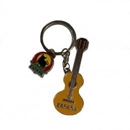 porte-clés-souvenir-flamenco-metal-guitare