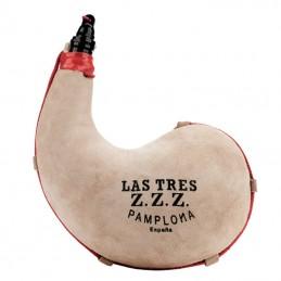 Bota de vino Latex curva Tres Zetas