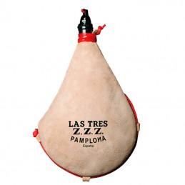 Bota de vino Latex recta Tres Zetas