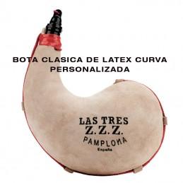 Bota de vino Tres ZZZ Curva...