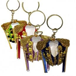 Bullfighting jacket keychain