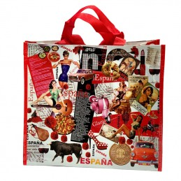Spain shopping bag