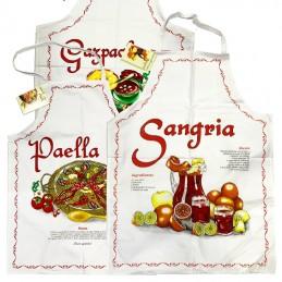 Spanish gastronomy aprons