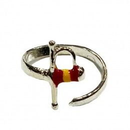 Bullfigting ring with...