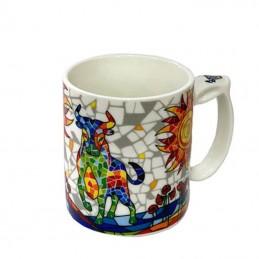 "Taza mug ""Toro Sol mosaico""..."