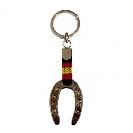Horseshoes Keychain