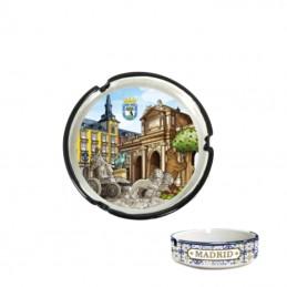 """Cendrier """"Monuments de Madrid"""""""