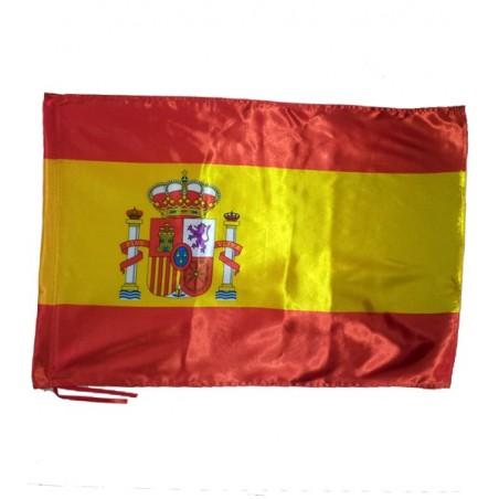 Drapeau de l'Espagne avec le bouclier