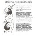 Castañuelas flamencas amateur