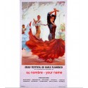 Flamenco Poster One name