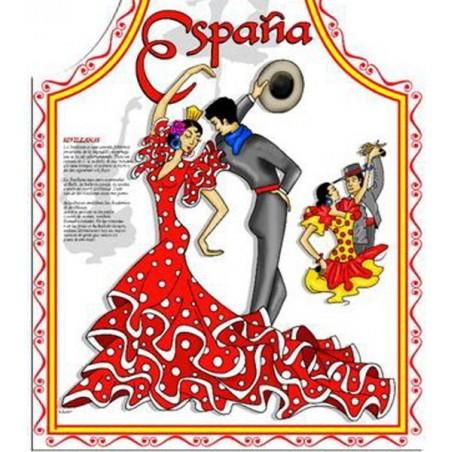 Flamenco and Bull Spanish Aprons
