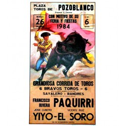 """Mitos"" bullfighting poster"