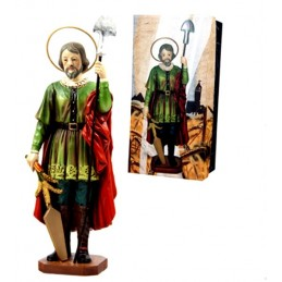 Replica of the figure of San Isidro Labrador (Madrid)