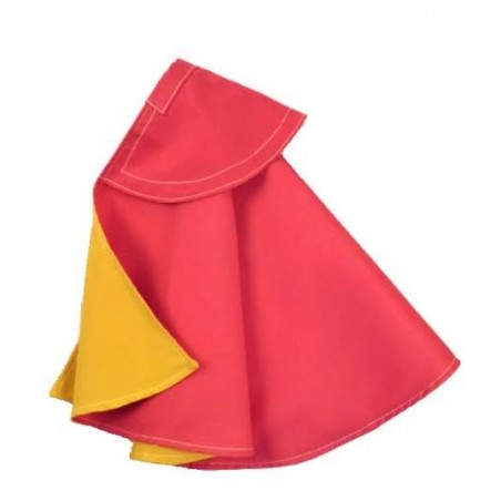 Child bullfighter cape