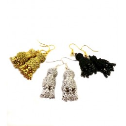 """Machos"" bullfighting earrings, ZiNGS design"