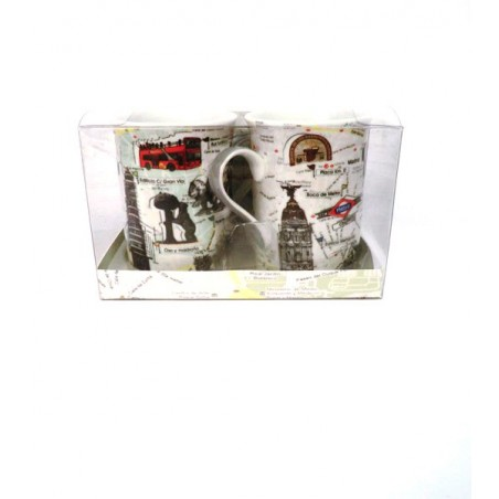 """Set of two cups """"Madrid"""""""