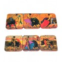 Bullfighting scenes Coasters
