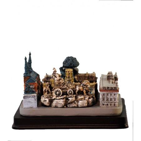 Collage de monumentos de Madrid