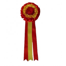 Medium livestock rosette, ZiNGS design