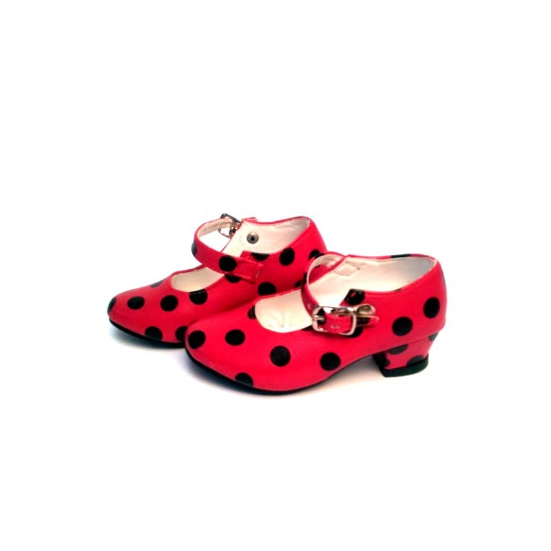 Flamenco dancer children's and adult's shoes