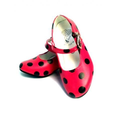 Zapatos infantiles de flamenca