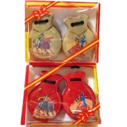 Castagnettes pour le flamenco