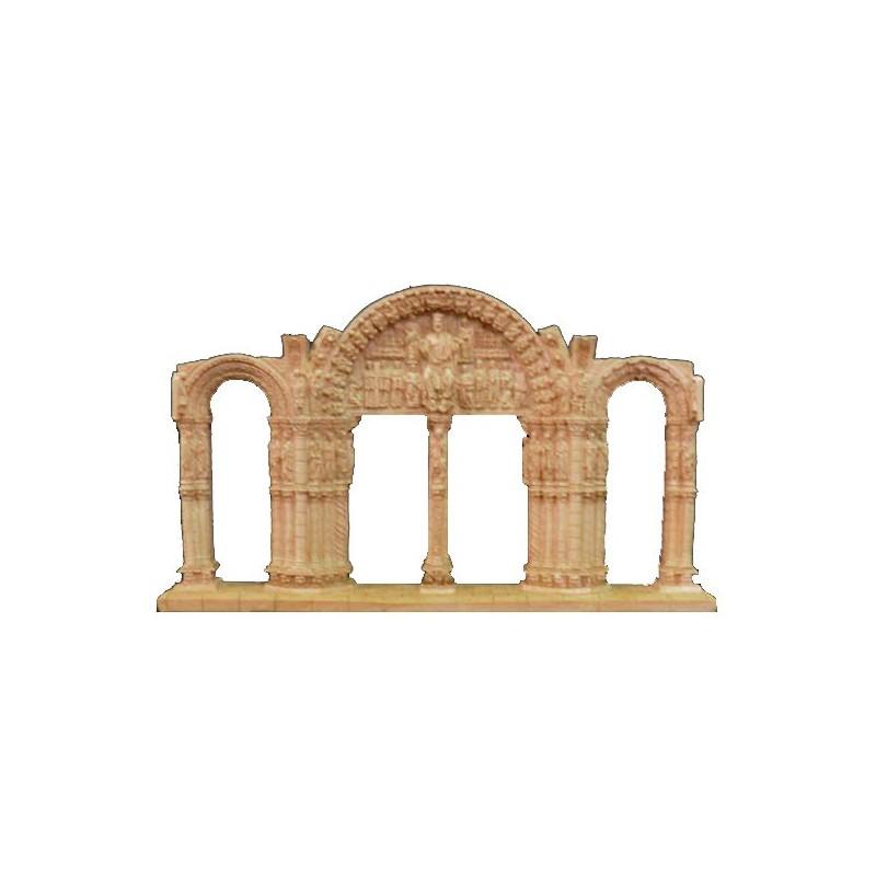 Replica of the Portico of Glory from Santiago de Compostela (A Coruña)