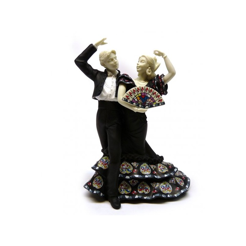 Couple of flamenco dancers from Nadal