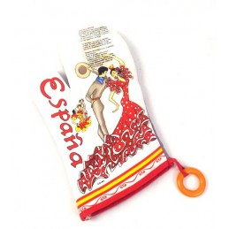 Spain Flamenco oven mitt