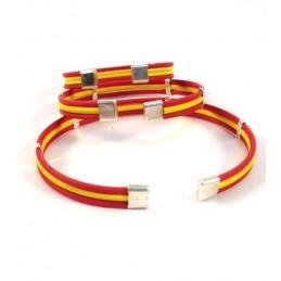 """Bracelet """"Drapeau de l'Espagne"""""""