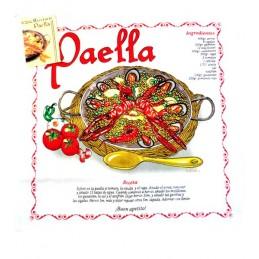 Paños de cocina con recetas españolas