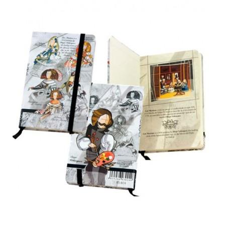 Cuaderno de bolso de Las Meninas