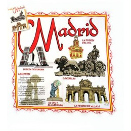 Madrid dish towel