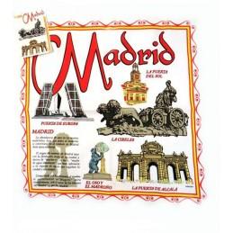 Torchon souvenir de Madrid