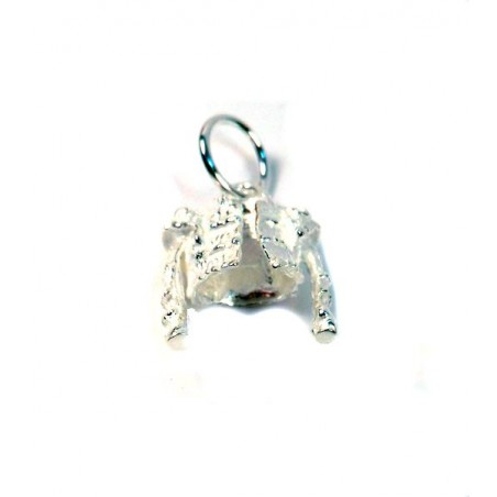 "Taurine silver pendant ""jacket"" (chaquetilla)"