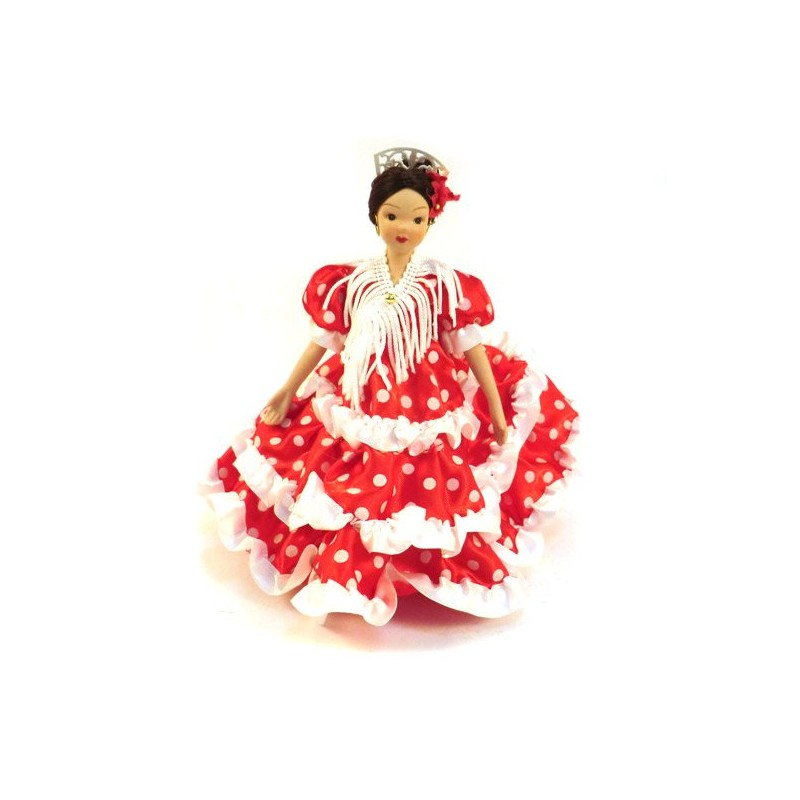 Muñecas sevillanas de porcelana