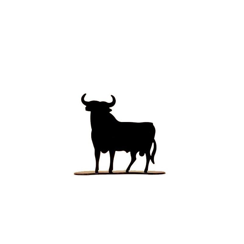 Figura en metal lacado del Toro de Osborne