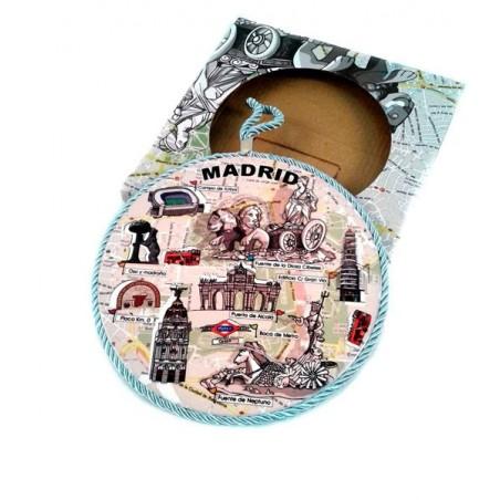 "Salvamanteles cerámica ""Madrid"""