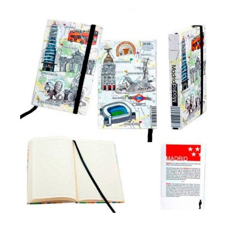"""Cuaderno de notas """" Madrid"""""""