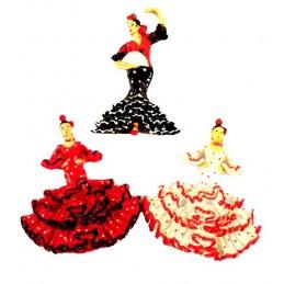 Imán de nevera bailaora Flamenca